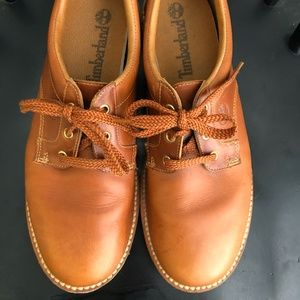 Timberland Shoes 11 Burnt Orange/Tan Walking
